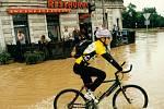 Křižovatka u Bristolu 9. července 1997.