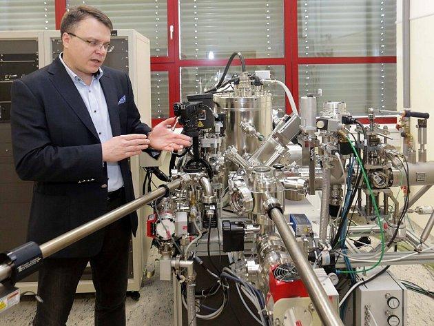 Michal Otyepka z Regionálního centra pokročilých technologií a materiálů (RCPTM) Univerzity Palackého v Olomouci
