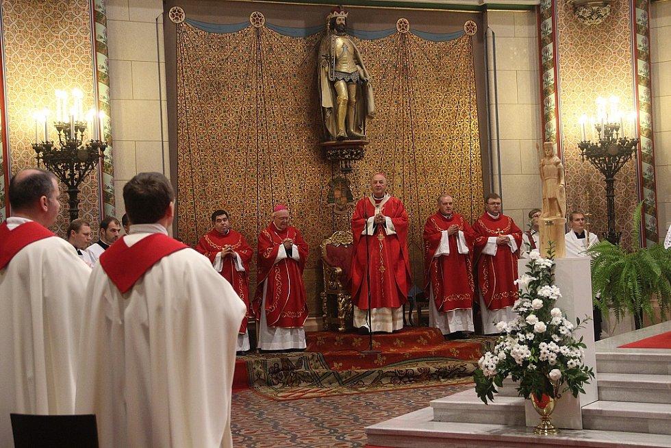 Oslavy sv. Václava doplnila v Olomouci připomínka dvou výročí a pouť veřejných činitelů