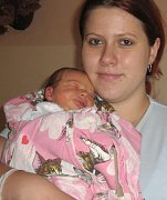 Nikola Majdová, Olomouc, narozena 11. září v Olomouci, míra 50 cm, váha 3570 g