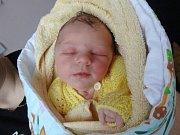 Rozálie Hradilová, Olomouc narozena 21. ledna míra 50 cm, váha 3450 g