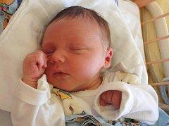 Marek Kulveit, Olomouc, narozen 4. září v Olomouci, míra 50 cm, váha 3560 g.