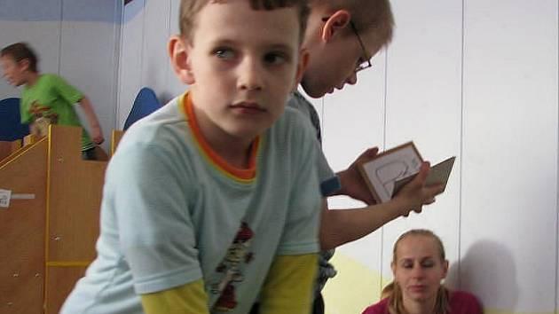 Autistické děti ve škole. Ilustrační foto.