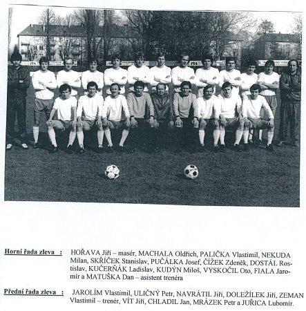 Sigma ZTS Olomouc vročníku 1981-82