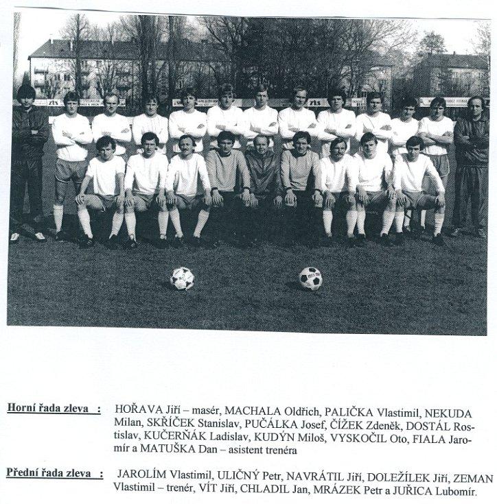 Sigma ZTS Olomouc v ročníku 1981-82