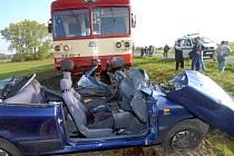 Po srážce z auta moc nezůstalo.