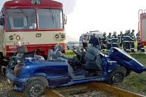 Po zajištění vozu se už čekalo jen na odtah.