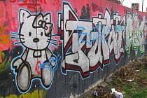 Olomoucká graffiti.