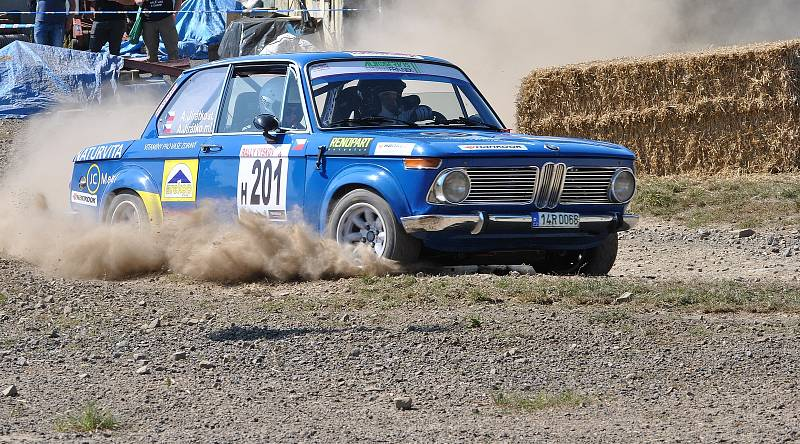 Aleš Jirátko na Rally Vyškov