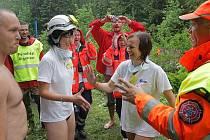 Záchranářská Rally Rejvíz