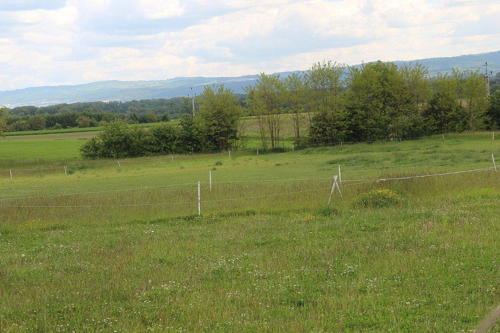 V této lokalitě v Křelově obec do budoucna počítá s novým parčíkem, pískovištěm a herními prvky.