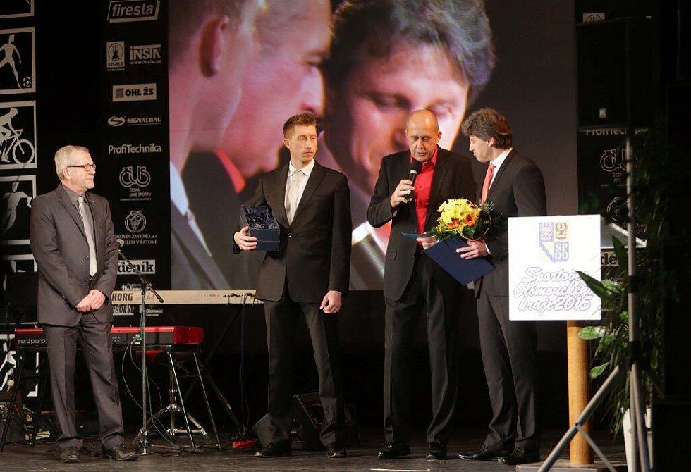 Tým HC Olomouc. Vyhlášení Sportovce Olomouckého kraje za rok 2015
