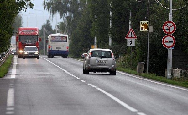 Změna dopravní situace na I/46 vTýnečku