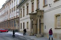 Budovy Filosofické fakulty a rektorátu Univerzity Palackého v Křížkovského ulici