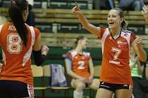 Olomoucké volejbalistky v play-off proti Ostravě