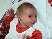Kateřina Kusá, Tři Dvory, narozena 30. září ve Šternberku, míra 48 cm, váha 3020 g