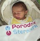 Štěpán Říha, Kamenná, narozen 4. března ve Šternberku, míra 49 cm, váha 3060 g