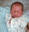 Matias Balut, Bohuňovice, narozen 22. května ve Šternberku, míra 48 cm, váha 2890 g.