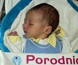 Vojtěch Navrátil, Lichnov u Bruntálu narozen 17. prosince míra 50 cm, váha 3330 g