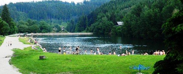 Dolní přehrada vDolním Bušínově (Bozeňov)