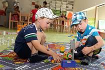 Slavnostní otevření nové mateřské školky v Tršicích