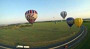 Balony nad Olomoucí