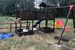 Na olomouckém přírodním koupališti Poděbrady vyrůstá nové vyžití pro děti
