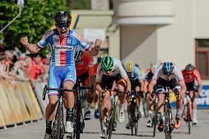 Vítěz Pavel Bittner. Foto: Závod míru U23 / Course de la Paix U23 Grand Prix Jeseníky