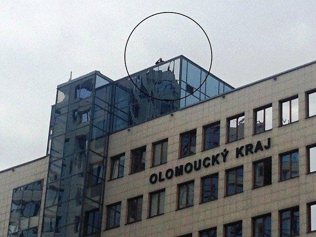Před příjezdem prezidenta Miloše Zemana do Olomouce - Bezpečnostní složky jsou vpohotovosti