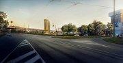 Šantovka Tower od třídy Svobody - vizualizace SMC Development