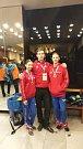 Sourozenci Barbora a Daniel Borůvkovi z Olomouce vyhráli na zimní olympiádě dětí a mládeže v Litomyšli soutěž v tanečním sportu.