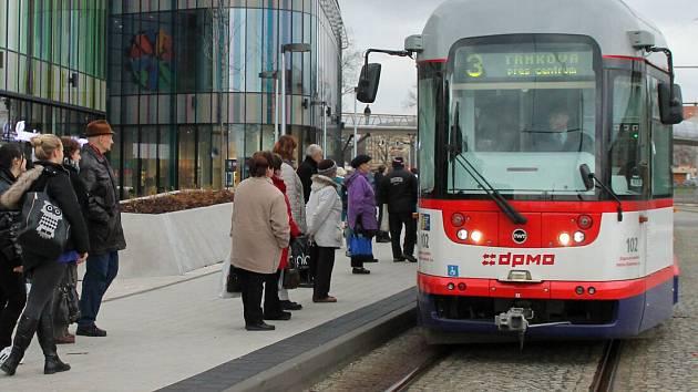 Olomoucká MHD. Ilustrační foto