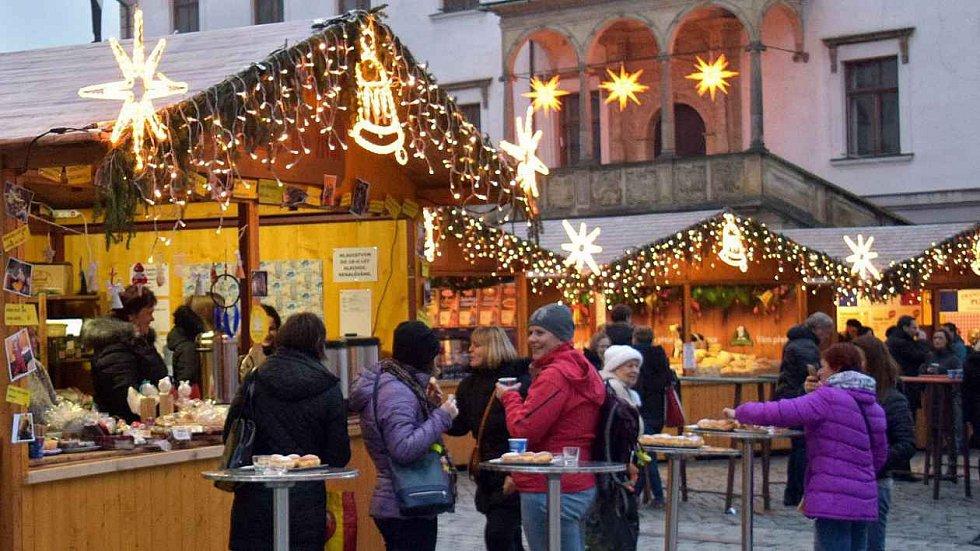 Olomoucké vánoční trhy.