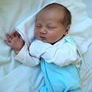 Jakub Fiala, Březce, narozen 20. května ve Šternberku, míra 50 cm, váha 3550 g.