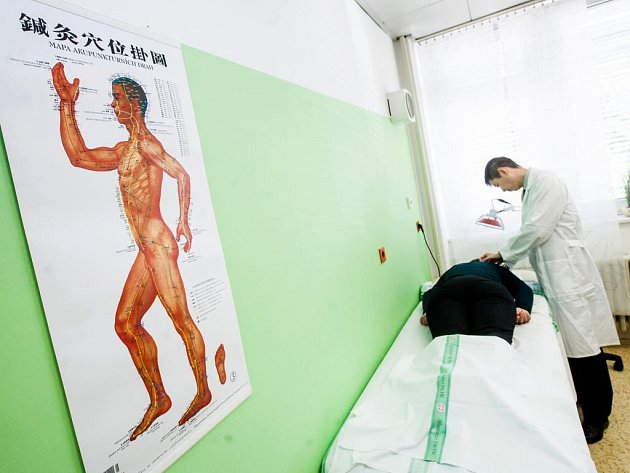 Čínská medicína. Ilustrační foto