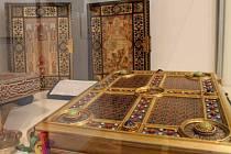 Výstava nazvaná Libri pretiosissimi v Arcibikupském paláci