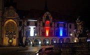 Olomouckou radnici na oslavu 100 let republiky rozzáří barvy trikolóry