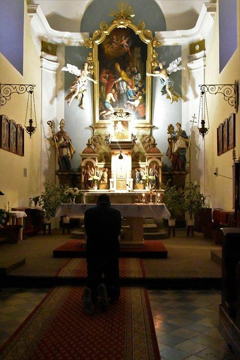 Noc kostelů, kostel sv. Mikuláše v Horce nad Moravou, 12. 6. 2020