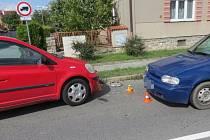Nehoda v křížení ulic Klostermannova a Jižní v Olomouci, 10. 9. 2019