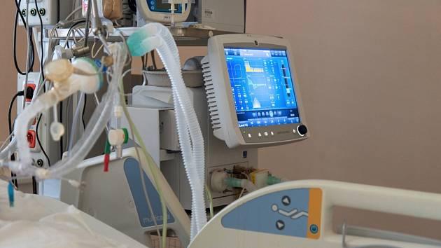 Plicní ventilátor. Ilustrační foto