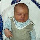 Sebastian Hofírek, Uničov, narozen 2 ledna ve Šternberku, míra 50 cm, váha 3530 g