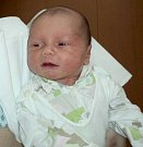 Marek Šustek, Bohuňovice, narozen 3. dubna ve Šternberku, míra 46 cm, váha 3700 g
