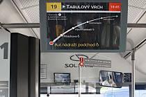 Informační displej pro cestující v nových autobusech DPMO