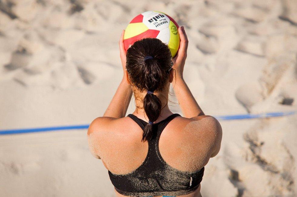 Beach volejbal. Ilustrační foto