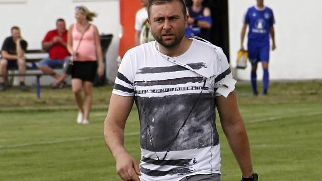 David Rojka, trenér Lutína