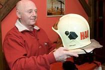 Rudolf Hauser - nejstarší sloužící profesionální hasič v Olomouckém kraji