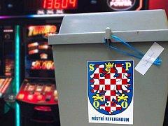 Referendum o hazardu v Olomouci. Ilustrační koláž