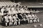 Milan Máčala a tým Sigmy Olomouc na archivním snímku z roku 1979.