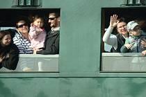 Jízda historickým vlakem. Ilustrační foto