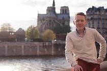 Francouz Paul Declerck studoval v roce 2011 na olomoucké Univerzitě Palackého. Na snímku je zachycen v Paříži, kde žil.